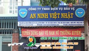 làm bảng hiệu công ty tại bình dương