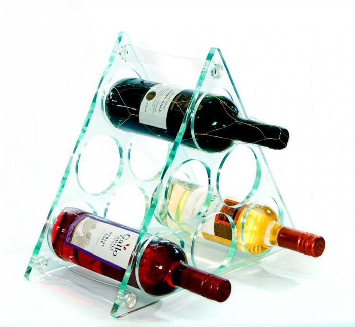 kệ mica trưng bày rượu